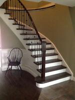 Staircase Railings Installation Refinish Repairs