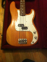 Selling Fender Precision Bass 1974