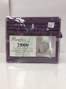 Queen size Bamboo sheet set