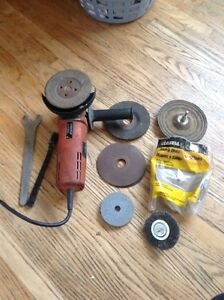 Fein Hand Grinder with Accessories