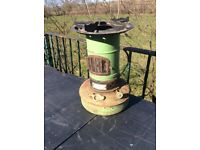 Vintage valour paraffin camping stove can post