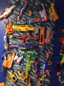 Nerf blasters and wall - part 2