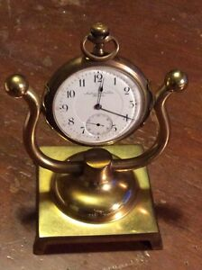 Mounted Pocket Watches –Waltham / Ambrose Kent & Sons  EACH