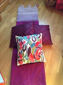 CURTAINS AND CUSHIONS