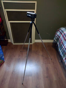 Sony Camcorder, Optex Tripod and SD Card
