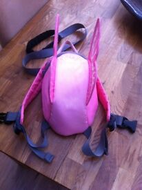 Little life butterfly rucksack with hand reins