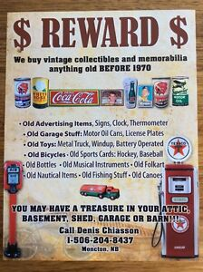 wanted buying $$$  motor oil tin can red indian white rose