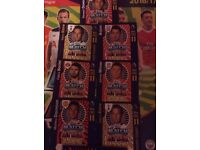 Free pro 11 match attax cards 1 per person
