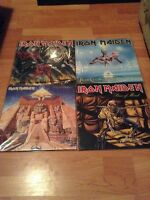 Vinyl; iron maiden picture discs