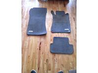Mercedes s class floor mats oem original factory mats 99-05
