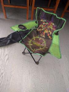 Ninja turtles folding lawn chair