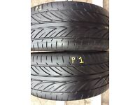 205/55/16 £45.00 for 2 Tyres FREE FITTING ! Matching pair . Top brand tyres
