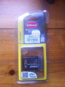 Hahnel rechargeable battery for SONY digital cameras/camcorders