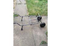 Double wheeled carp barrow