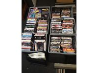 Large DVD collection over 260 DVDs