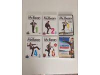 MR BEAN rowan Atkinson 1 2 3 4 5 mr beans holiday DVD set
