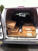 OFFERRING Delivery/ Transport Service VANCOUVER to VERNON April2