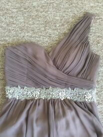 Taupe Bridesmaid Dress size 12