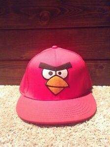 """""""Angry Birds"""" red hat Kitchener / Waterloo Kitchener Area image 1"""