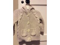 Hooded Cardigan 12-18 months £2