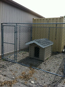 Dog House and 10x10 kennel