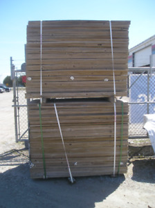 Green Pressure Treated Lumber Clearance