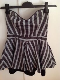 River Island - strapless cocktail dress size 10