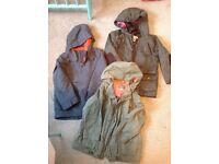 3 X boys coats Age 6-7