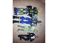 Punisher figures. Fully articulated