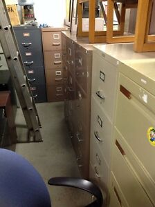 LOTS OF 2/3/4/5/6 DRAWER VERTICAL /LATERAL METAL FILING CABINETS Kitchener / Waterloo Kitchener Area image 8