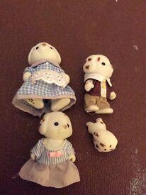 Sylvanian Families animal figures - price per family
