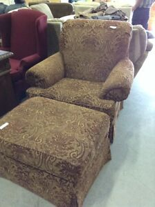 Chair with footstool @HFHGTA - Markham