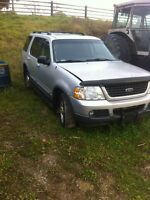 2000 for explorer for parts