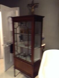 Stunning antique cabinet dresser