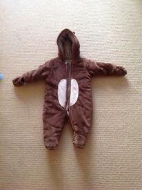 Snowsuit aged 6-9 months