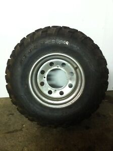 Atv Tire on Rim 25x10-12