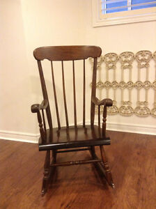 HOUSE OF BROUGHAM ROCKING CHAIR