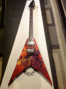 "Sell/Trade, Dean VMNT Dave Mustaine, ""Peace Sells""  Flying V"