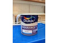 Brand new Dulux 2.5L White Cotton ENDURANCE + Matt Paint