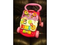 Vtech baby walker with detachble actyvity board