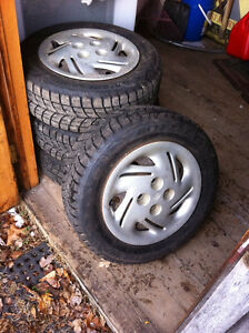 Blizzak Winter Tires 285/65-14 on Ford 4 bolt Rims