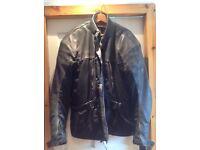 Hein Gericke 2xl leather jacket