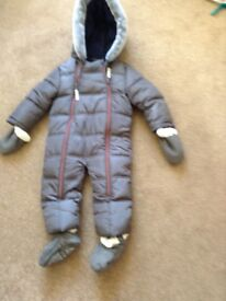 Ted Baker 12-18 snow suit
