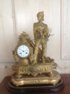 Large French mantel clock