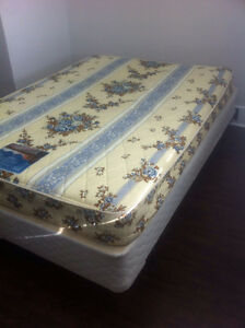 Double Bed - Matress and Metal Frame