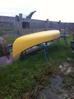 2-16ft canoes