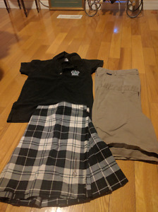 Holy Cross ladies spring uniform and kilt