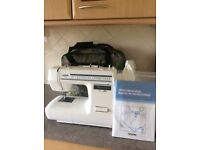 BROTHER Sewing/Embroidery machine with full instruction manual. Model XL4050.