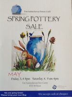 Fort Saskatchewan Pottery Guild Spring Sale