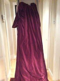Lovely velvet curtains